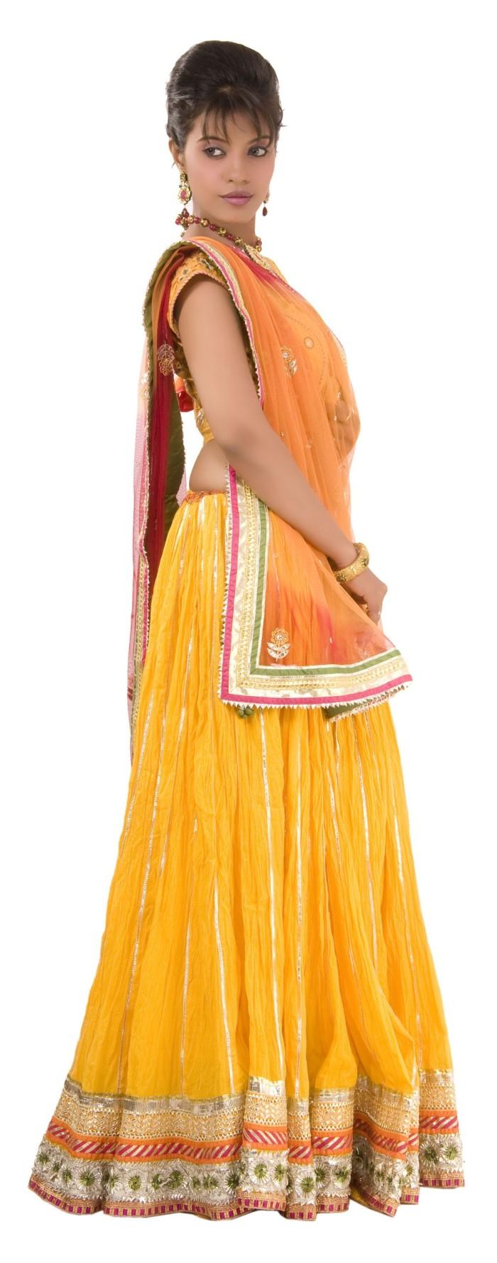 Yellow Lehenga Choli - LEHENGAS - WOMEN'S WEAR