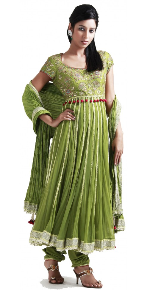 Indian Designer Churidar Suits