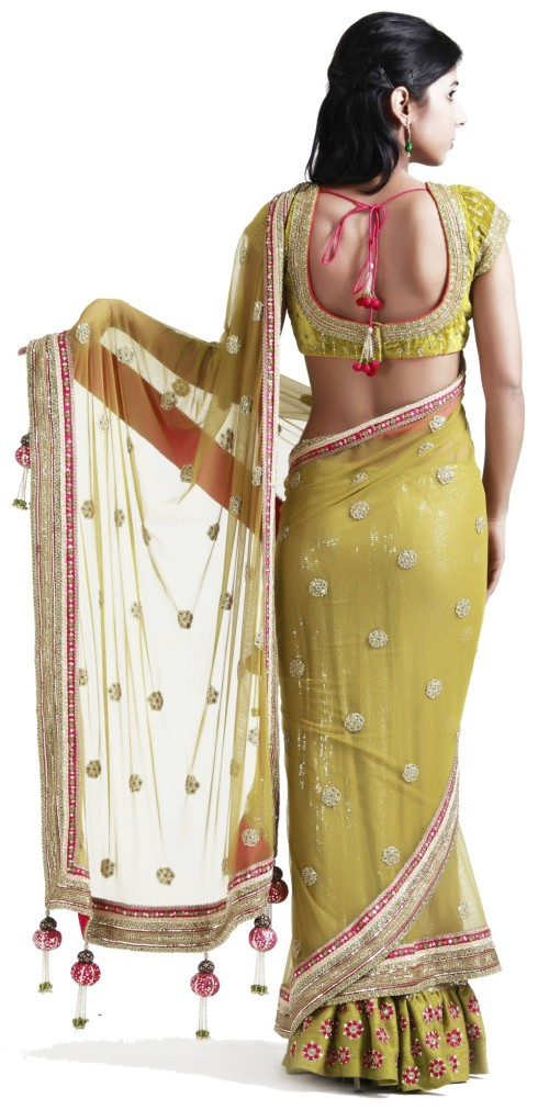 Designer Stitched Sarees-  WOMEN'S WEAR