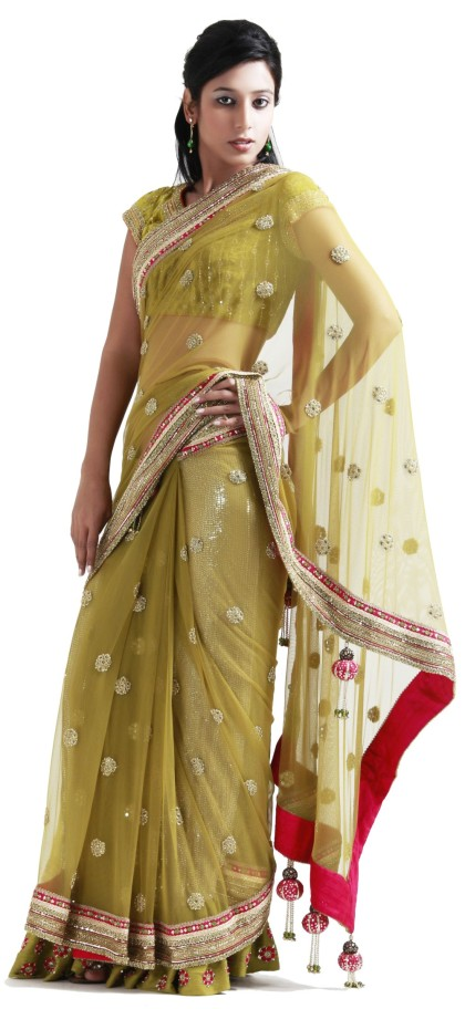 INDIAN DESIGNER STITCHED SAREES - WOMEN'S WEAR