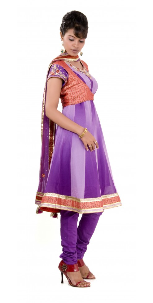 Indian Designer Suits - Anarkali- WOMEN'S WEAR