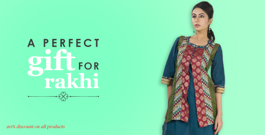 Rakhi Offer on Indian Designer Wear