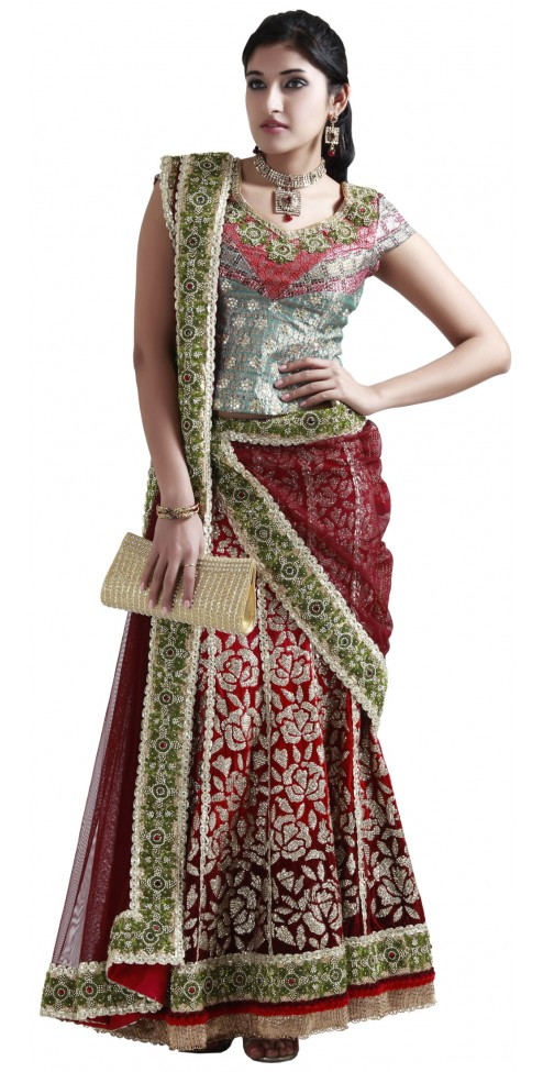 Online Shop - Indian Designer Bridal Lehenga
