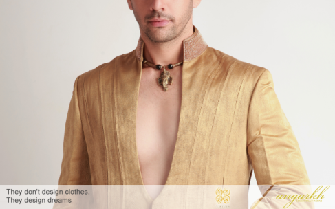 Indian Designer Wear Online @ Angakrh - Virtues Studio