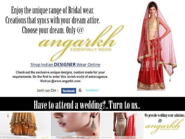 New Indian Designer Wear Collection 2013 Online @ Angarkh