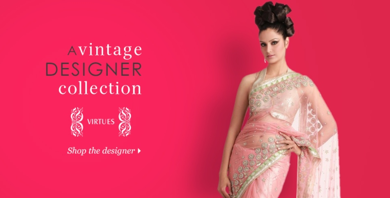 Indian Designer Bridal Sarees Collection Virtues @ Angarkh